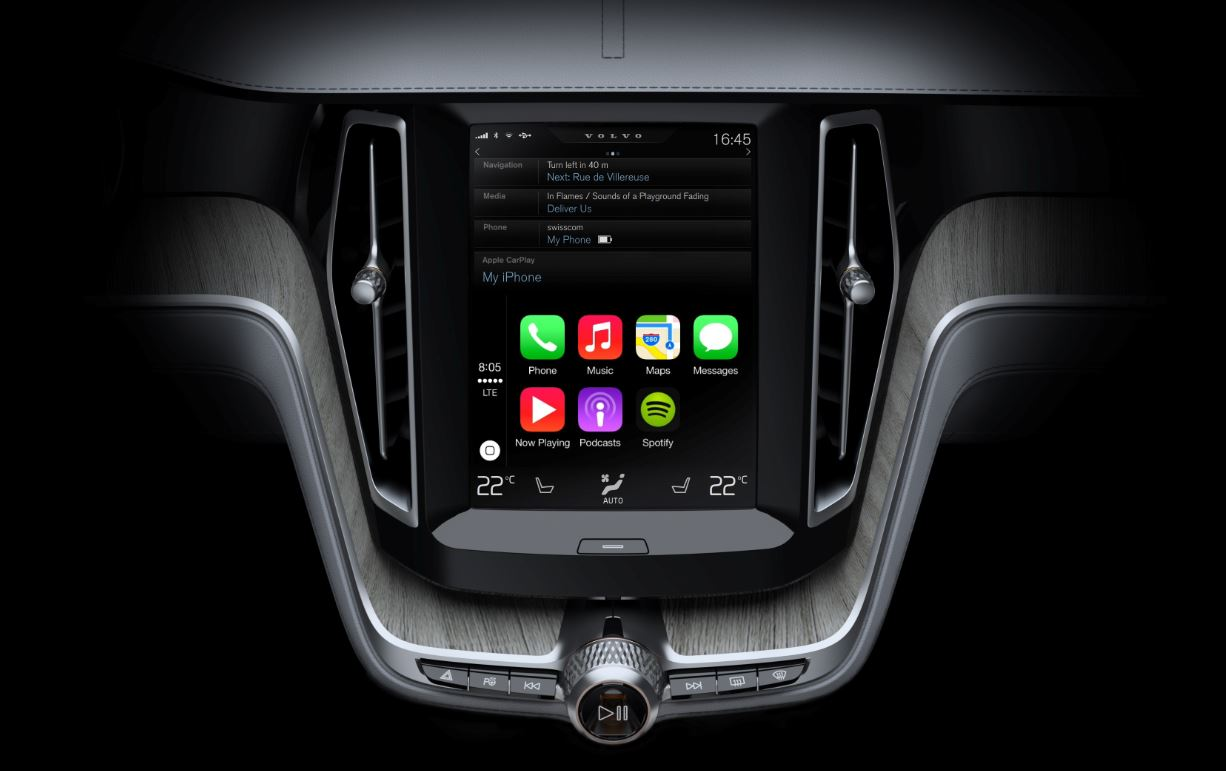 Apple carplay iOS volvo