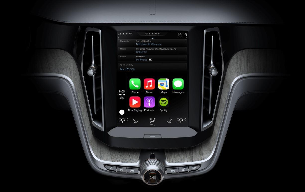 Apple carplay iOS volvo