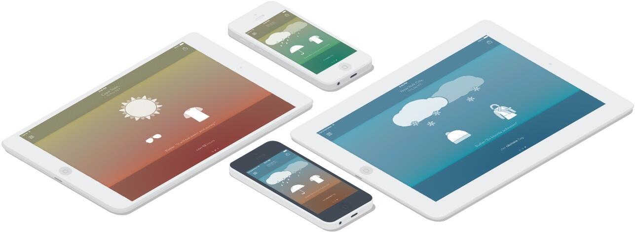 app gratis iOS Wetter