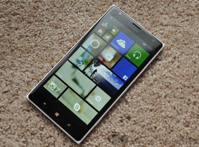 blue microsoft Update Windows Phone