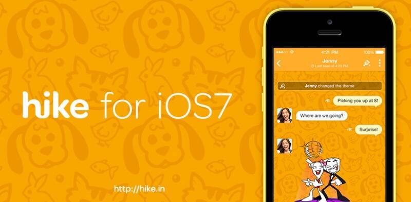 hike iOS Messenger Update