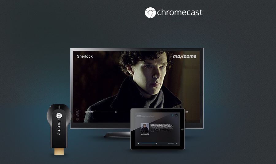 chromecast maxdome TV vod