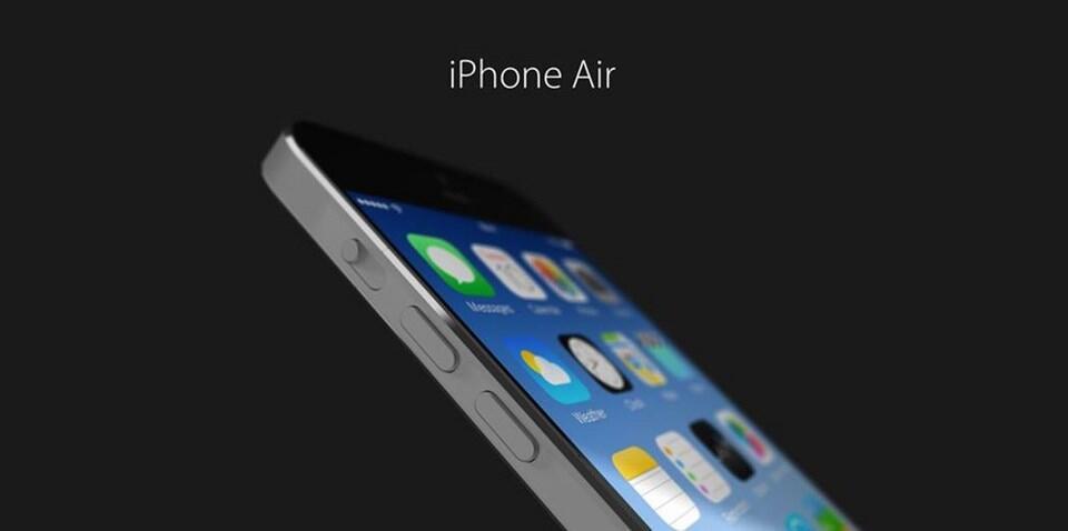 air Apple iOS iphone Konzept