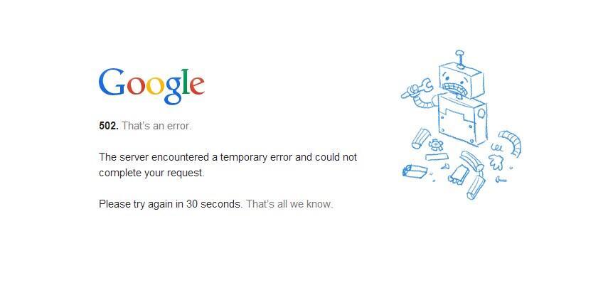 down Google YouTube