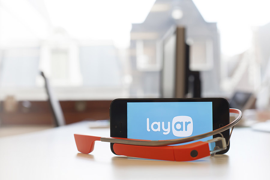 Android Augmented-Reality brille Glass Google