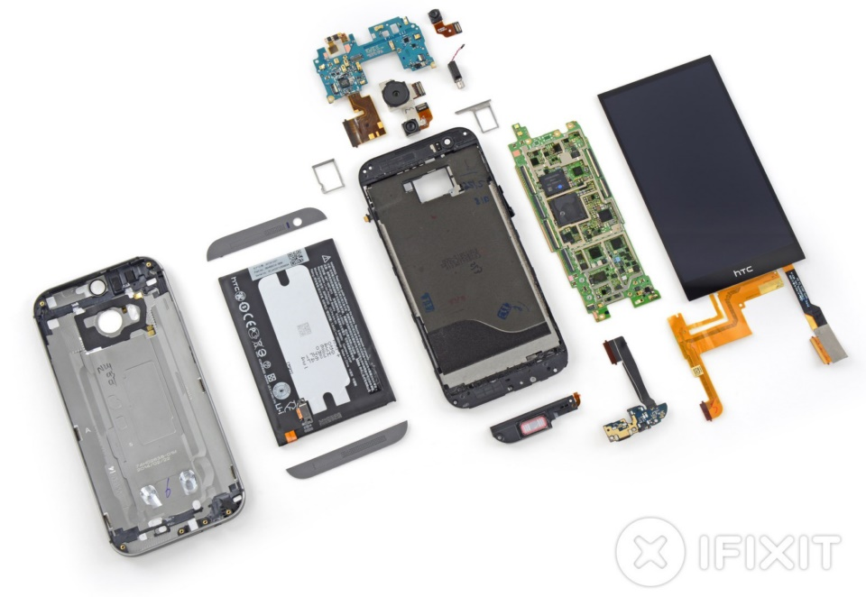 Android HTC ifixit m8 one