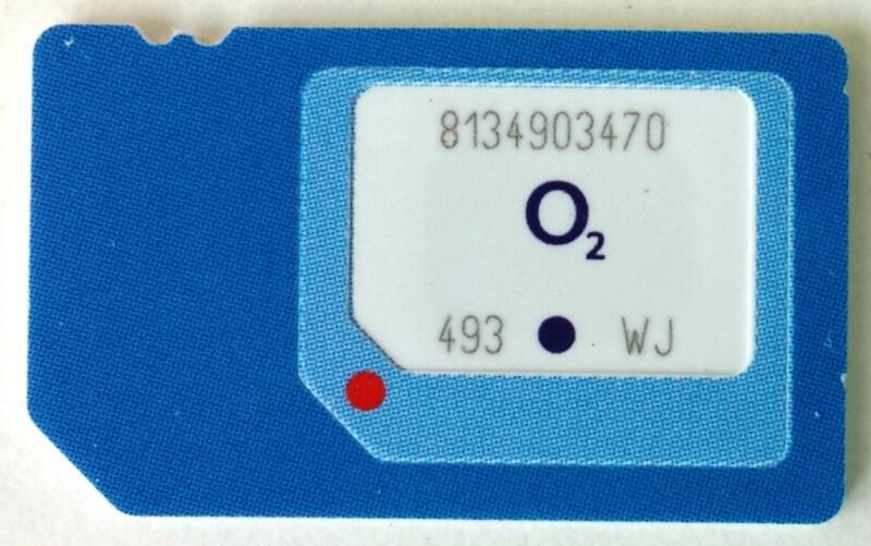 karte micro Mini nano o2 sim