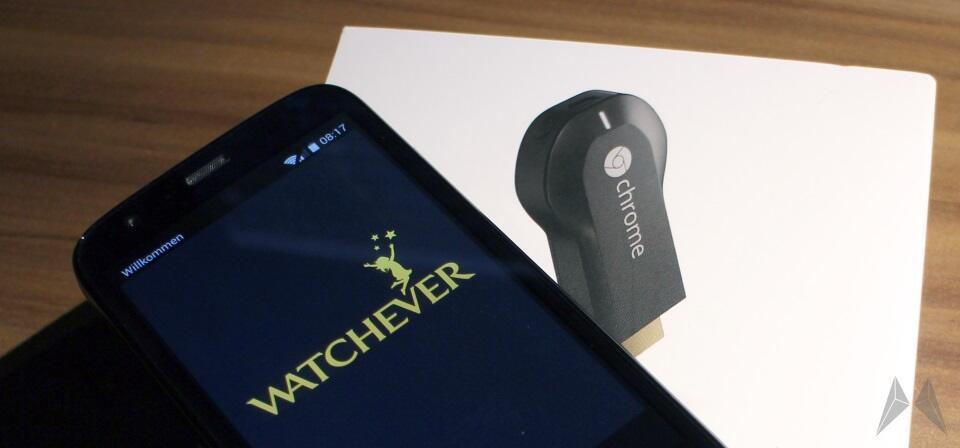 Android chromecast deutschland Google iOS maxdome Update Watchever
