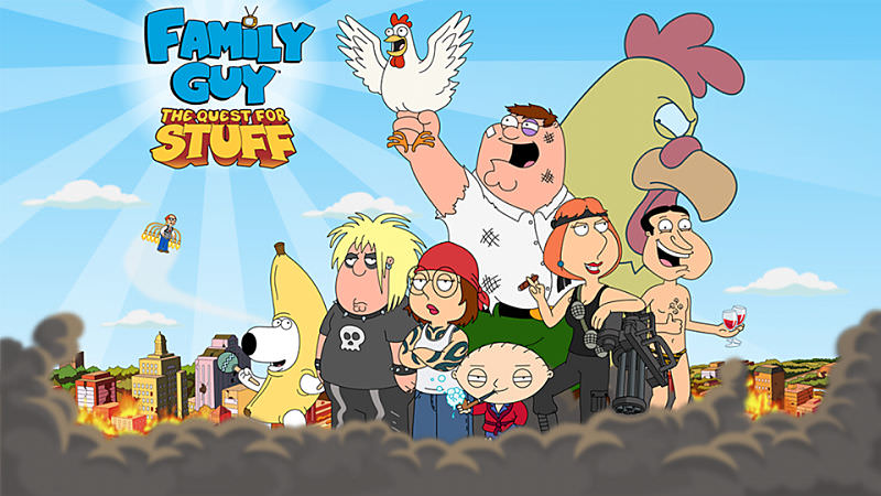 Android Family Guy games iOS Spiele teaser Video