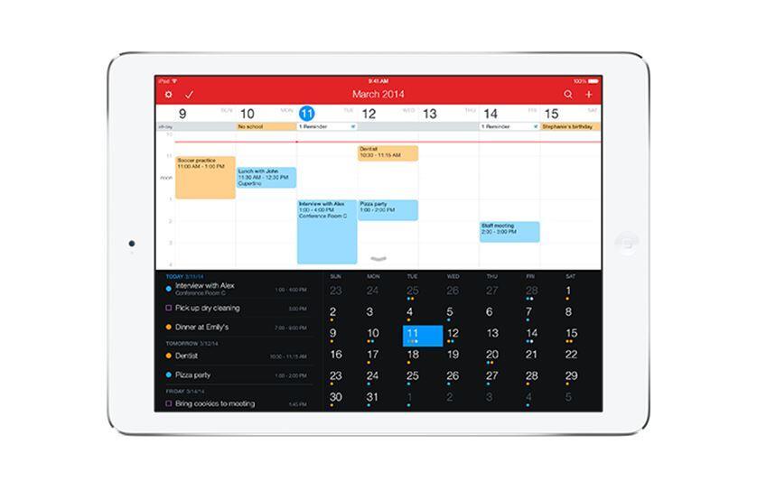 Fantastical iOS iPad Kalender