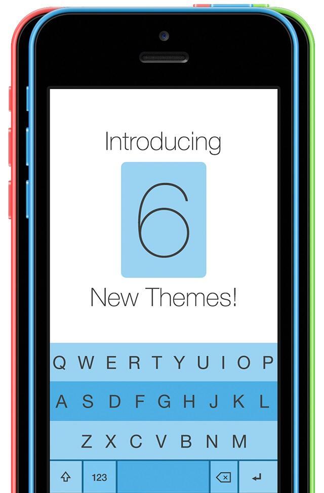 app Fleksy iOS Tastatur