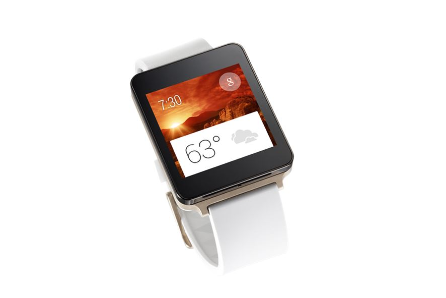 Android G Watch Gold LG