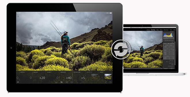 Adobe iOS iPad Lightroom