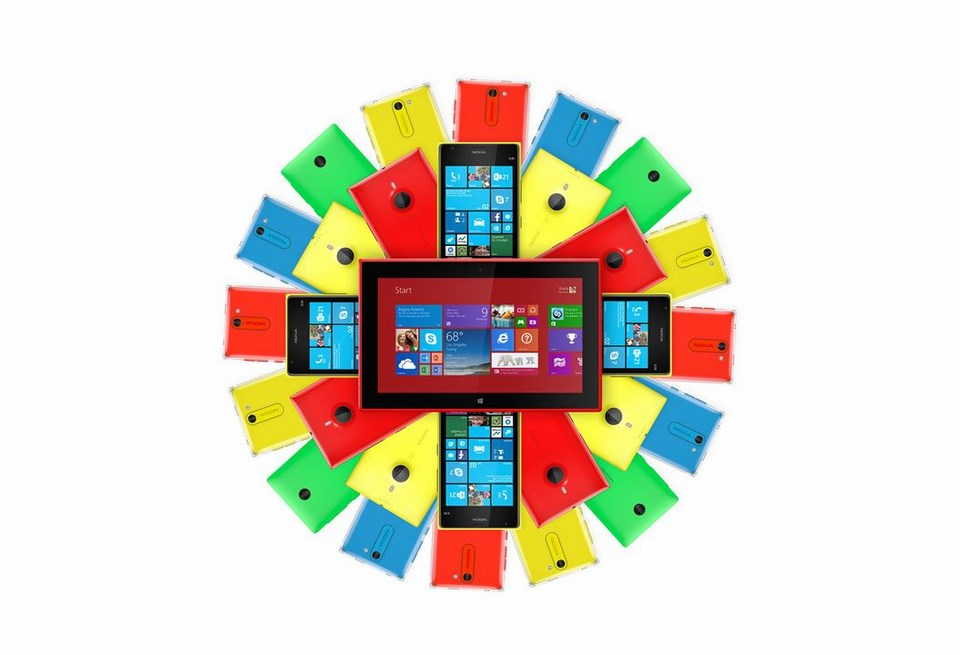 microsoft Nokia phone Video werbung Windows