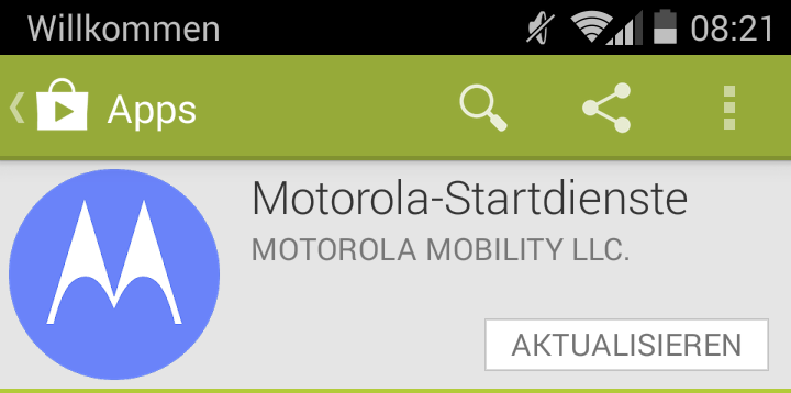 Android boot Motorola System Update