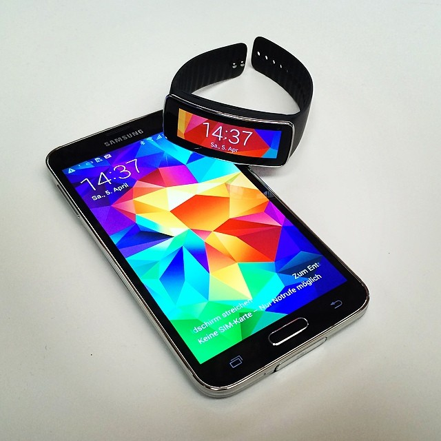 Android fit galaxy Galaxy S5 gear s5 Samsung