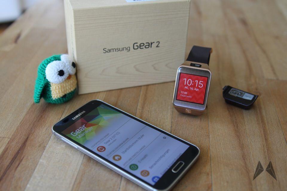 Android Gear 2 Samsung smartwatch tizen
