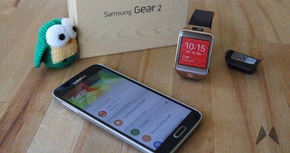 Android Gear 2 Samsung smartwatch Testbericht