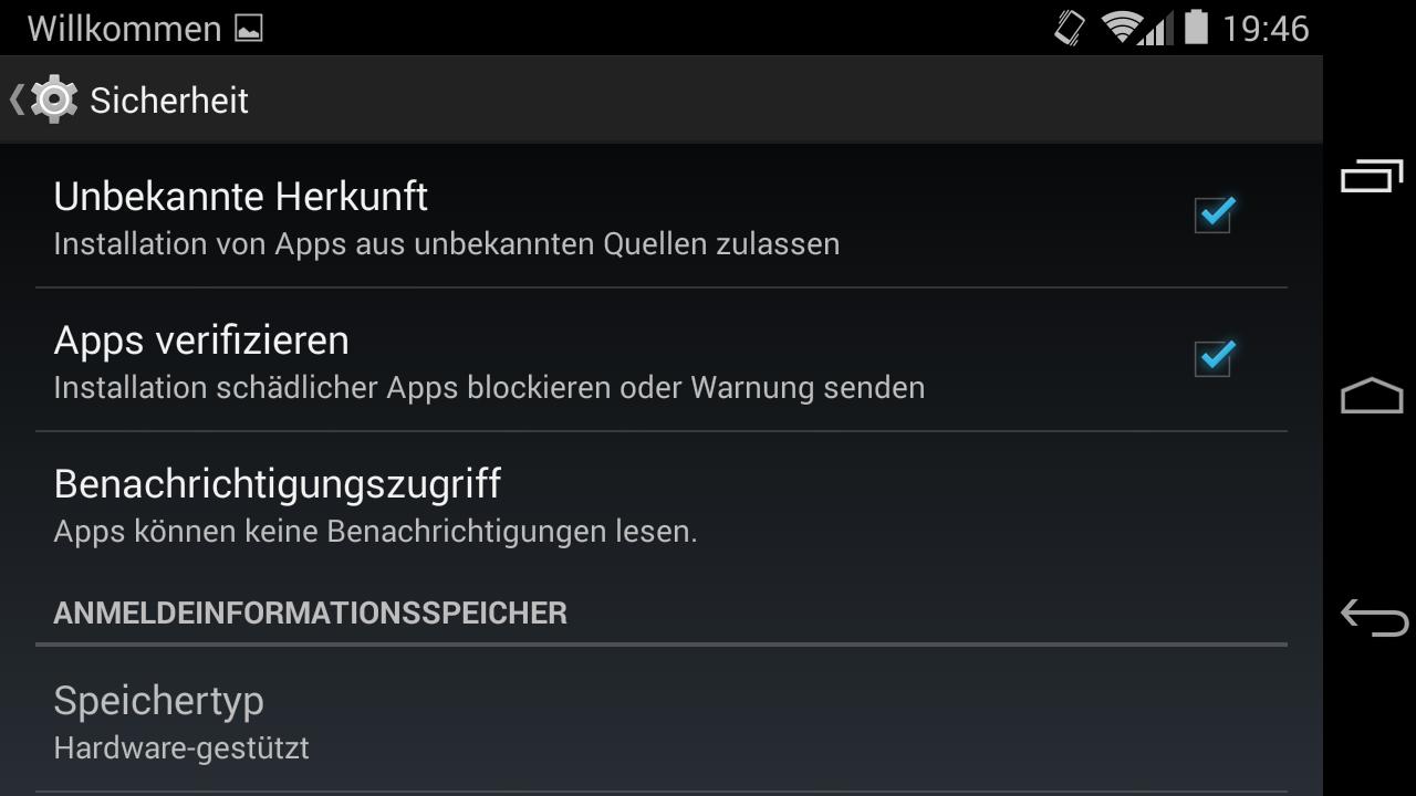 Android Google Sicherheit