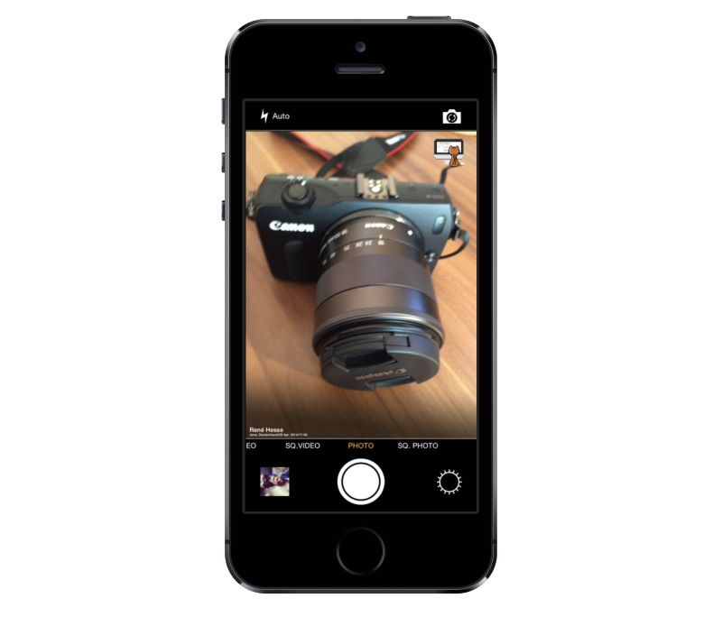 app cam camera iOS iphone Kamera