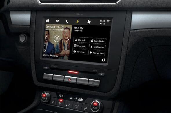 auto build infotainment Konzept microsoft Windows