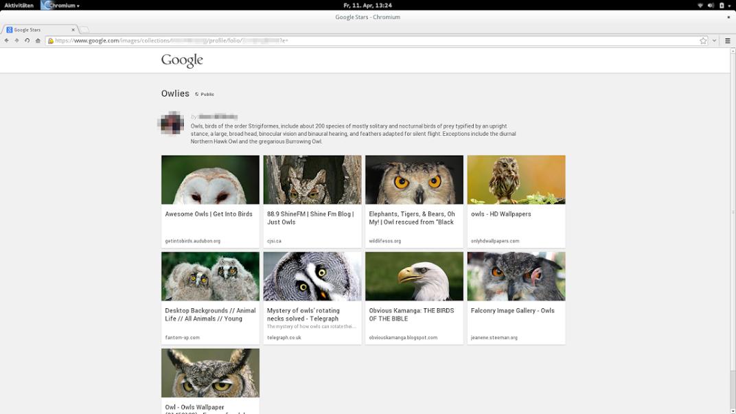 Google Google Stars Screenshot