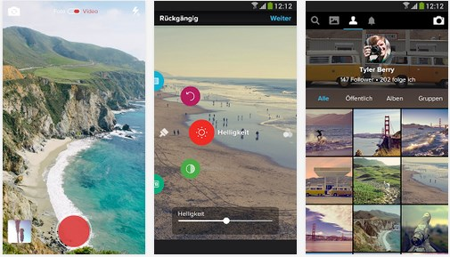 Android Flickr iOS Update
