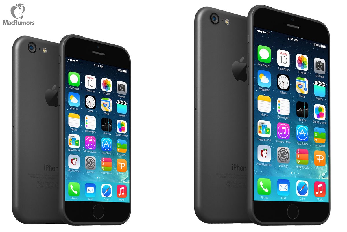 iOS iphone Konzept mockup