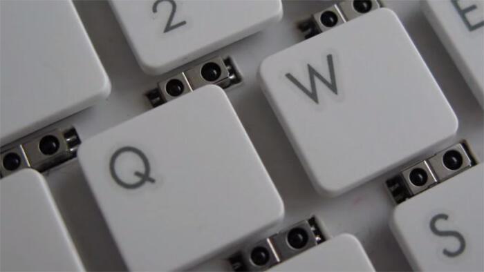 Gestensteuerung microsoft Tastatur