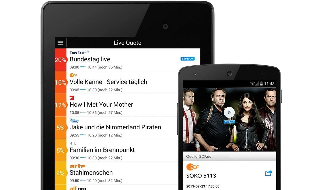 Android iOS kindle Live mac os TV