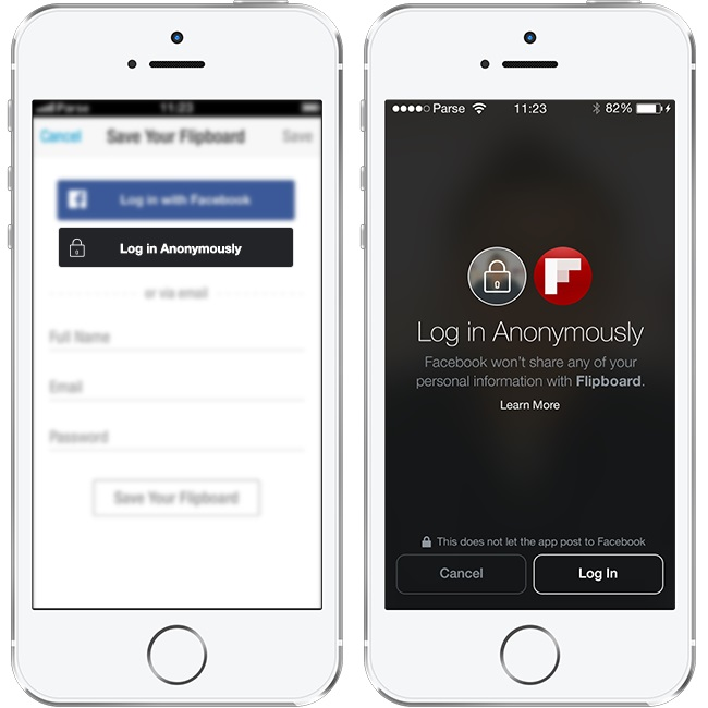 facebook login social