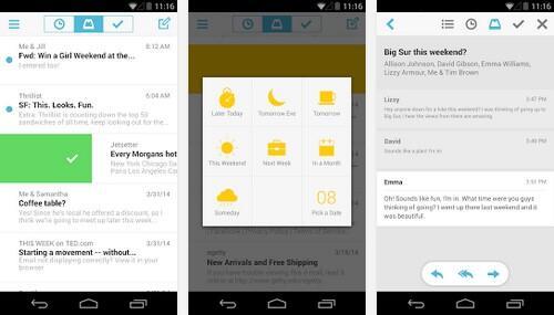 Android dropbox mailbox
