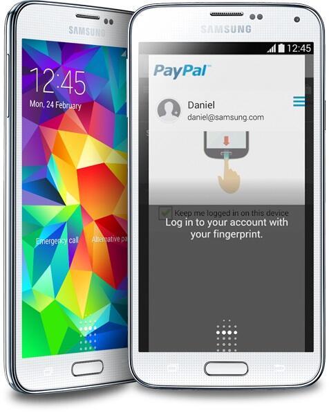 Android fail fingerabdruck Fingerabdrucksensor Galaxy S5 reader Samsung scanner Sicherheit