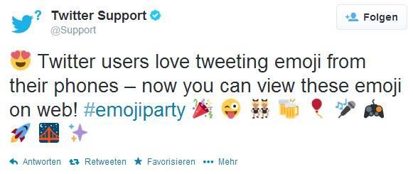 Emoji social twitter Update