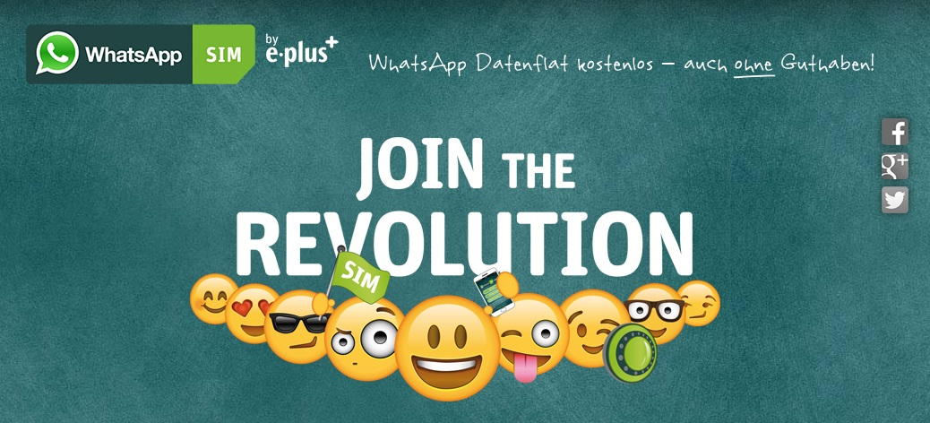 E-Plus Messenger tarif whatsapp