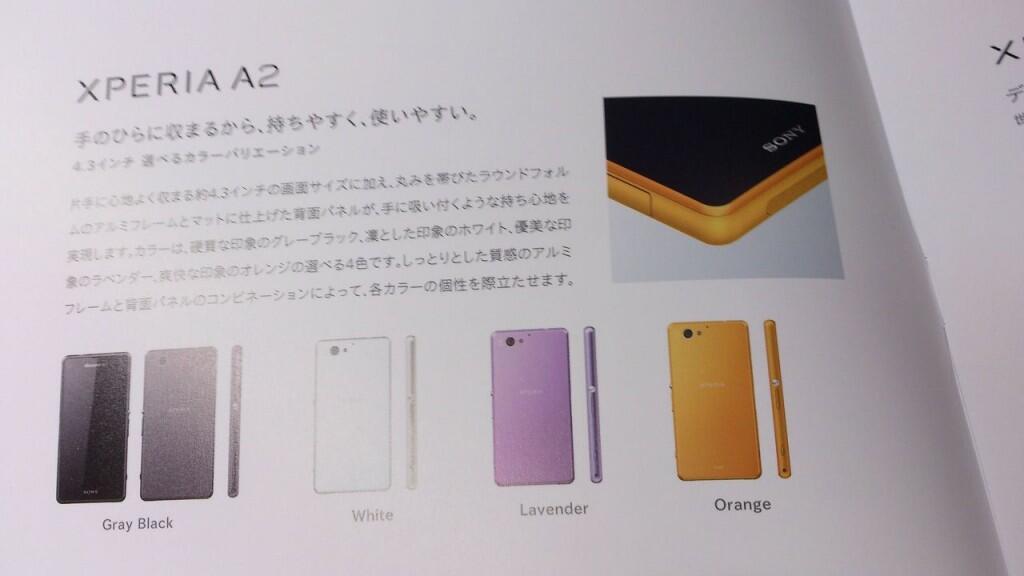 Leak Sony Xperia Z2 Compact