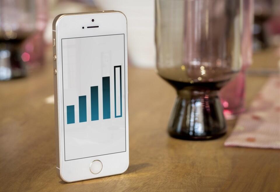 Infografik mobile mobilfunk stats