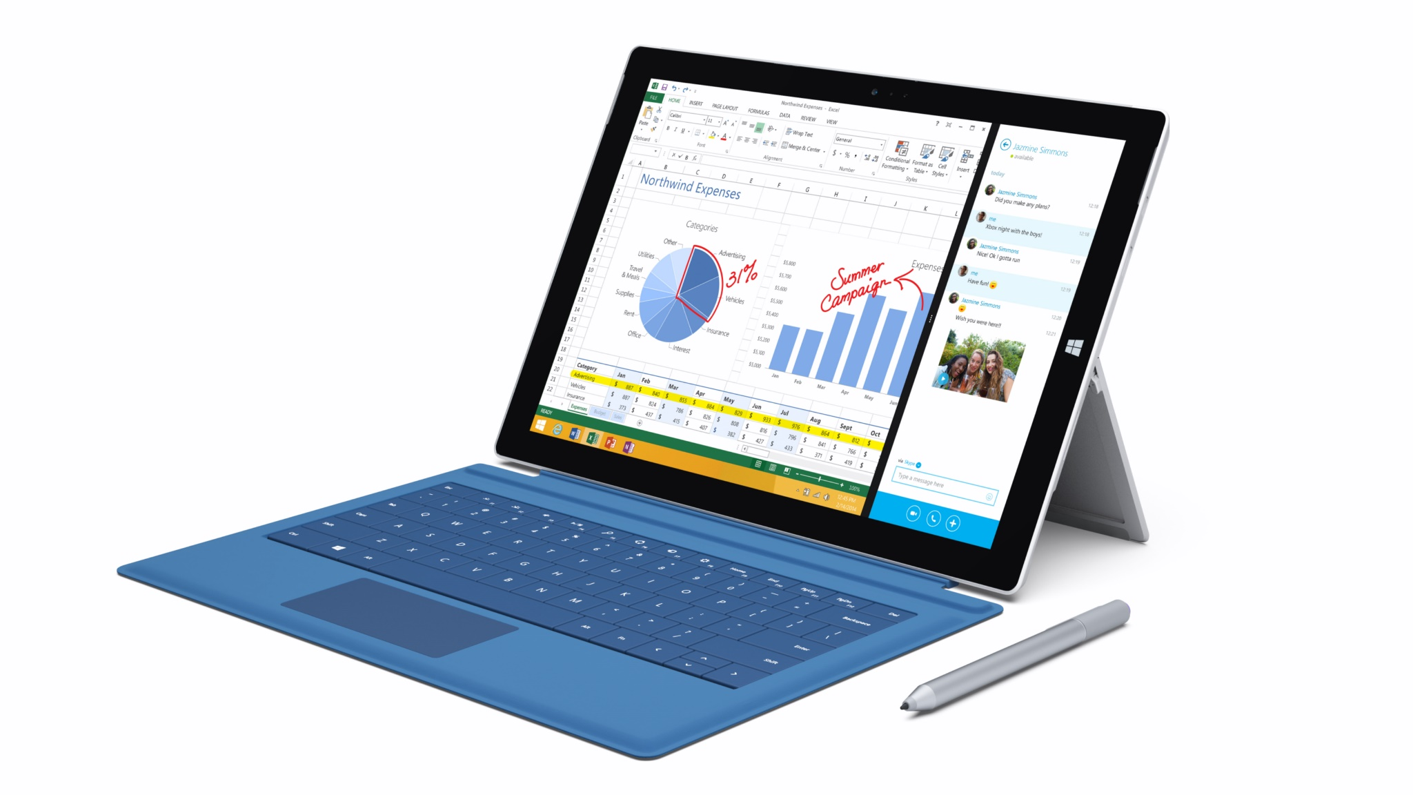 microsoft surface Surface Pro 3 tablet Windows