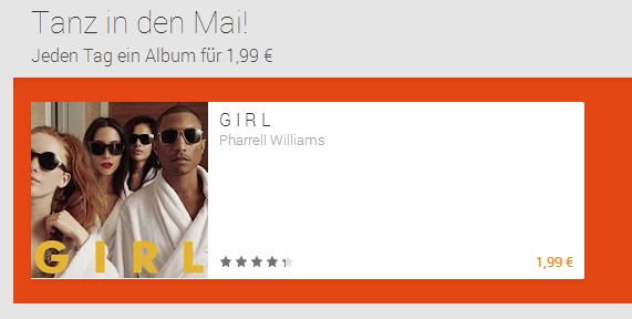 Android deal Google music