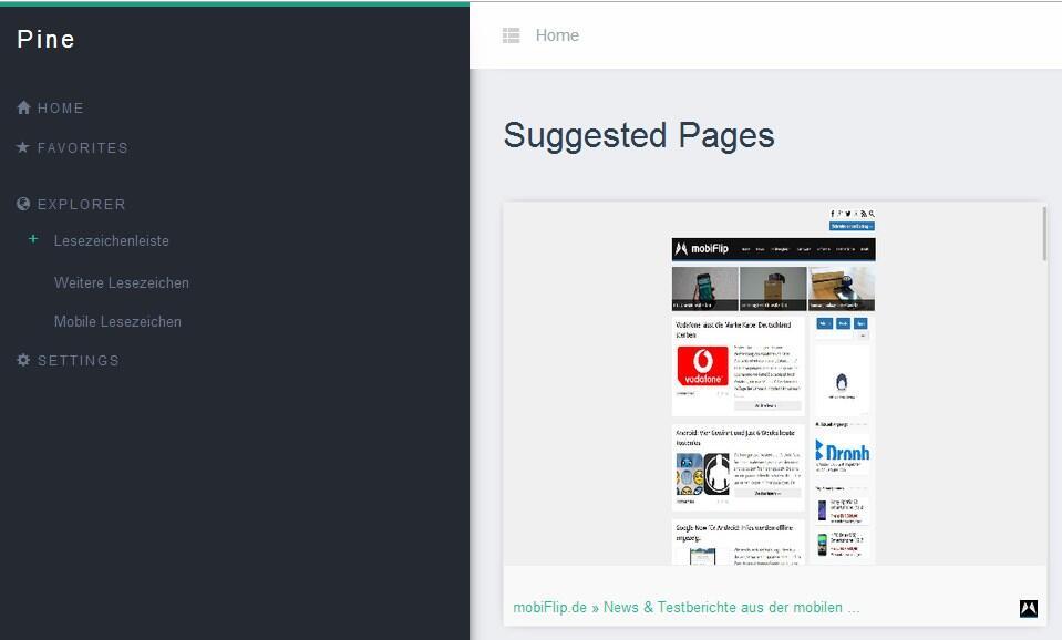 Browser chrome Google lesezeichen plugin
