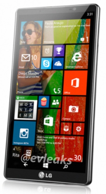 Leak LG Windows Phone