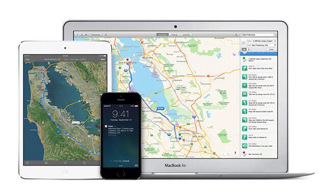Apple Apple Maps Maps navigation Patent Patente
