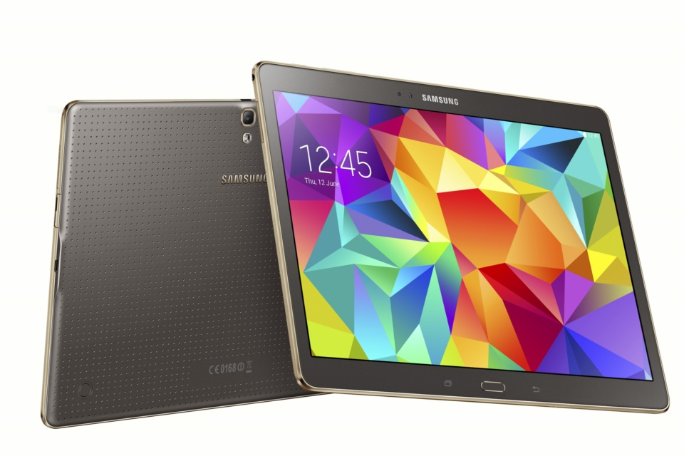 Android galaxy hands on Samsung tab s Video