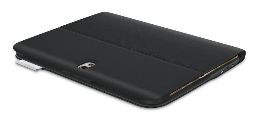 logitech type s keyboard case f r das samsung galaxy tab. Black Bedroom Furniture Sets. Home Design Ideas