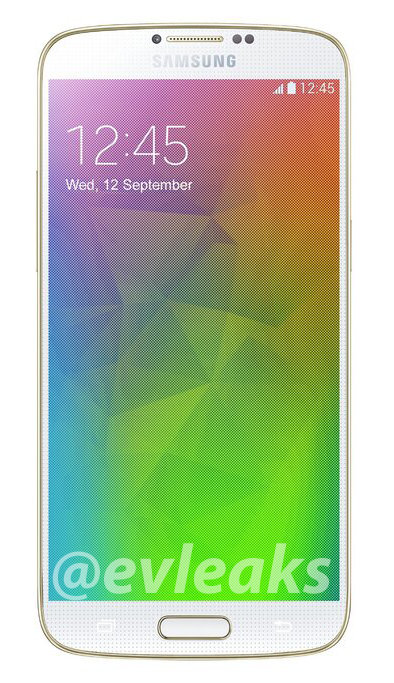 Android evleaks Leak pressebild Samsung Samsung Galaxy F Smartphone