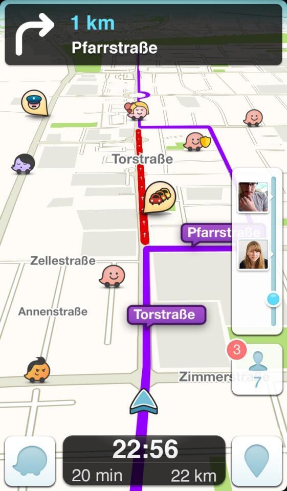 navigation Update Waze