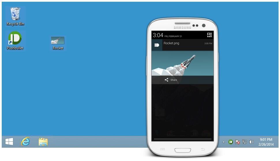 Android app beta desktop pc play push