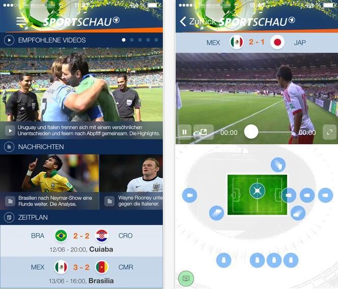 Apple fussball iOS iPad iphone Sport