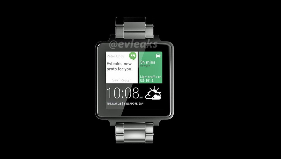 Android HTC smartwatch wear
