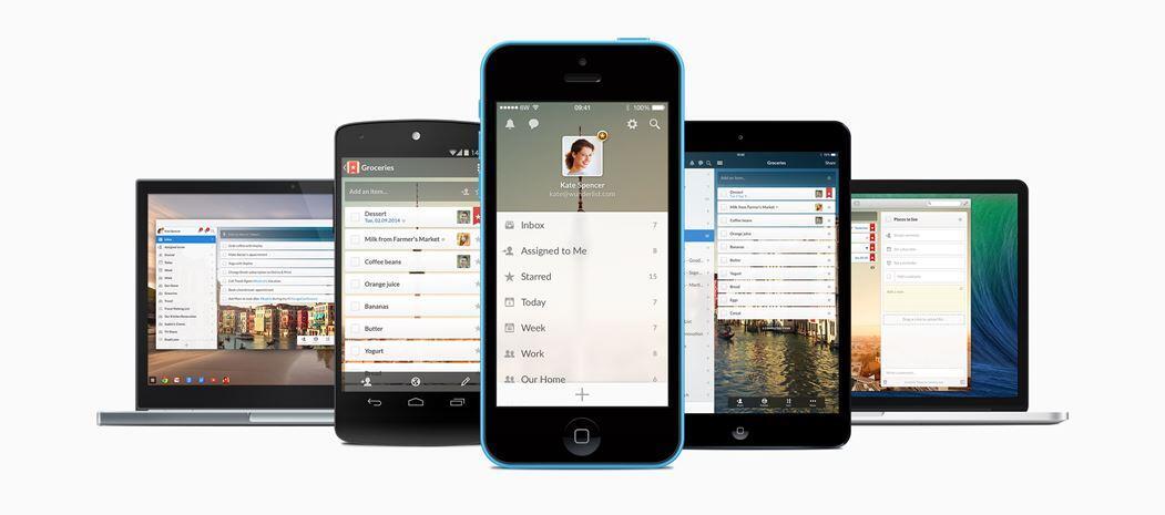 6wunderkinder Android iOS microsoft Windows wunderlist